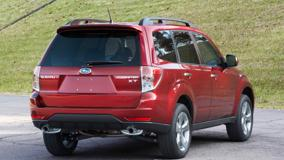 2009 Subaru Forester 25 XT In Red Back Pose